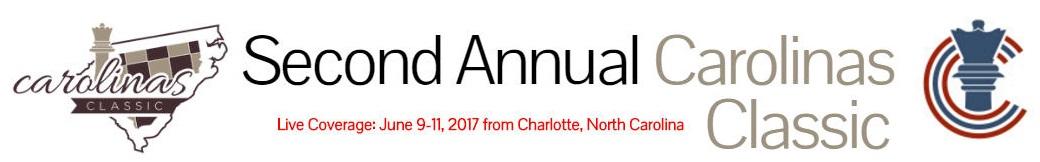 Second Annual Carolinas Classic. Live Coverage 6/9/2017 - 6/11/2017 From Charlotte, North Carolina
