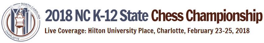 2018 North Carolina K-12 State Chess Championship