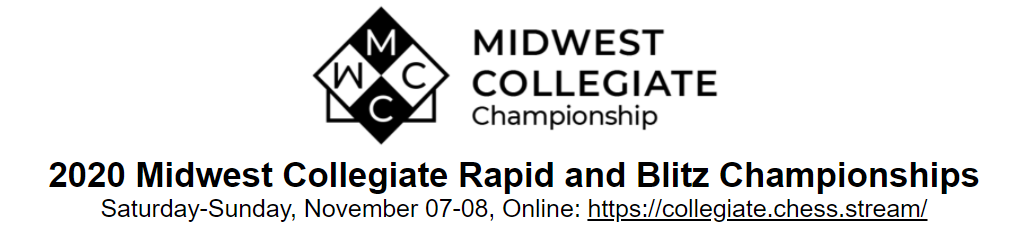 2020 Midwest Collegiate Rapid and Blitz Championships