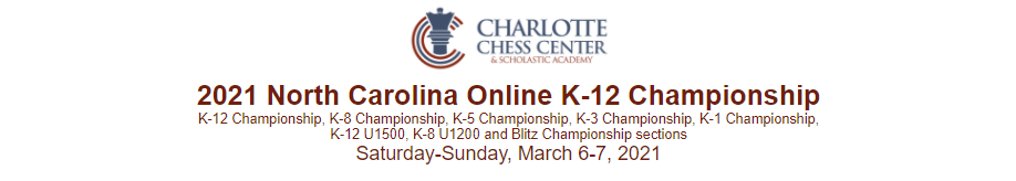 NC K-12 Championship (Online)