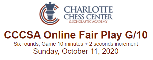 Charlotte Chess Center Online Fair Play G/10