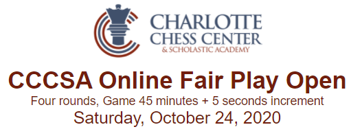 Charlotte Chess Center Online Fair Play Open