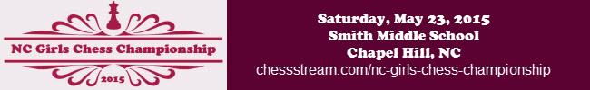 2015 NC Girls Chess Championship